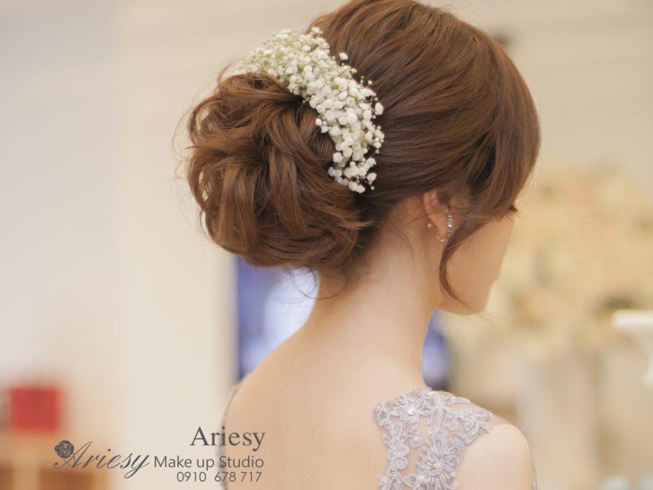 ariesy,愛瑞思,新娘秘書,新秘,編髮,鮮花造型,新娘秘書教學,維多利亞