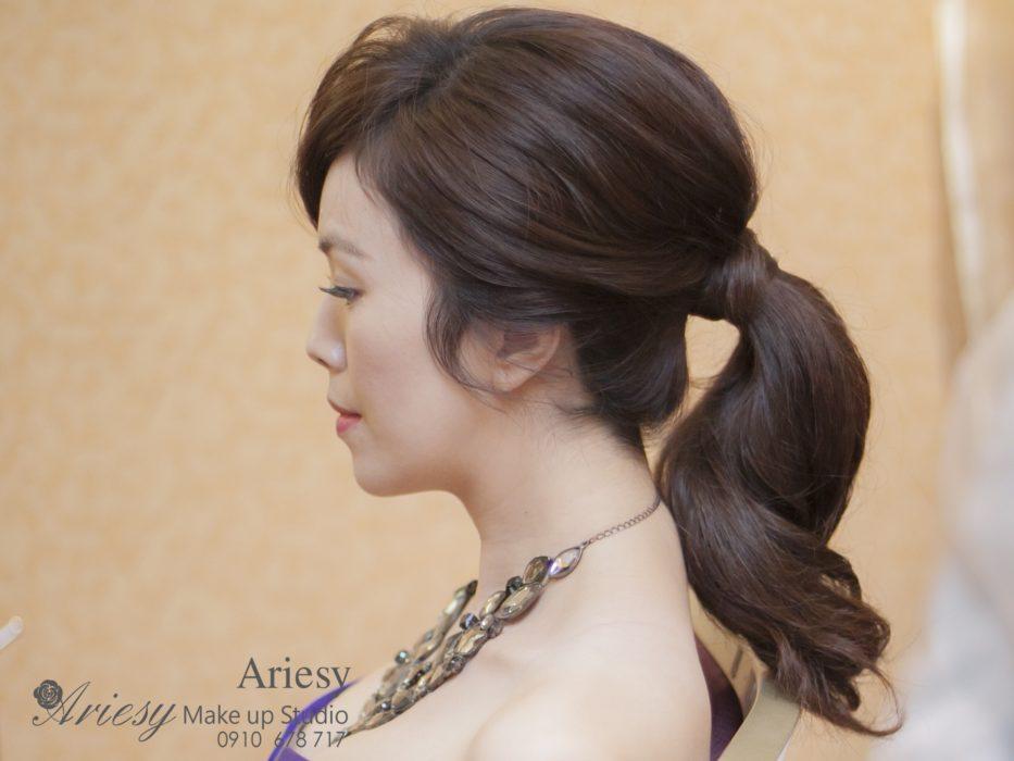 ariesy,愛瑞思,新娘秘書,新秘,編髮,時尚造型,新娘秘書教學