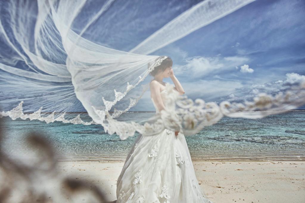 關島,自助婚紗,愛瑞思造型團隊,新祕Miko,Dream婚紗
