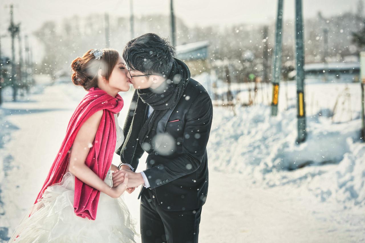 北海道,自助婚紗,佩君,新秘,安琪