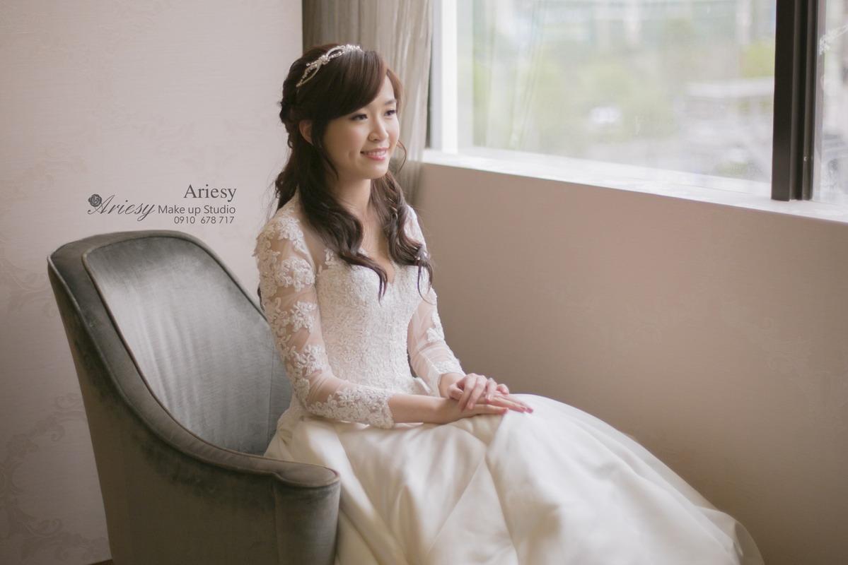 ariesy,愛瑞思,新娘秘書,新秘,編髮,鮮花造型,和璞
