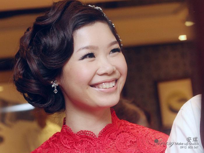 彭園餐廳,造型師安琪,復古,夜上海風,旗袍