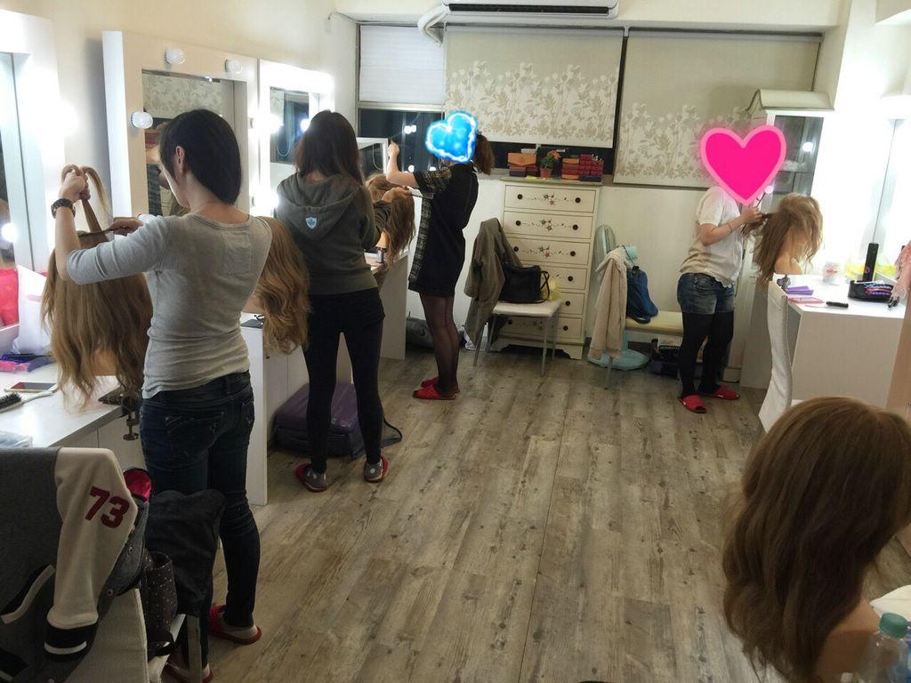 新祕初階班,Miko老師,新祕教學,新祕miko,赫本包頭,Dream婚紗工坊,Ariesy造型團隊教學
