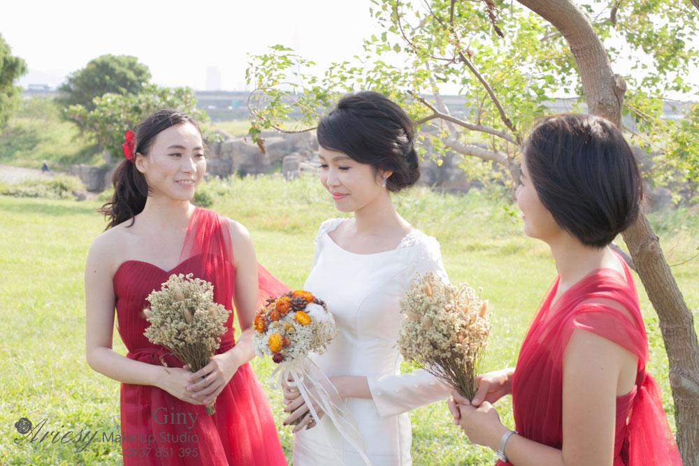 台北新娘秘書,Giny,Ariesy造型團隊,新秘推薦,歐美風格新秘,新娘推薦文,美式婚禮,黑髮新娘