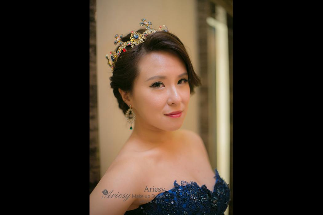 新娘秘書,造型,髮型,BRIDE,新秘推薦, STRAND,braid,台北,婚宴場地,亞都麗緻,歐美