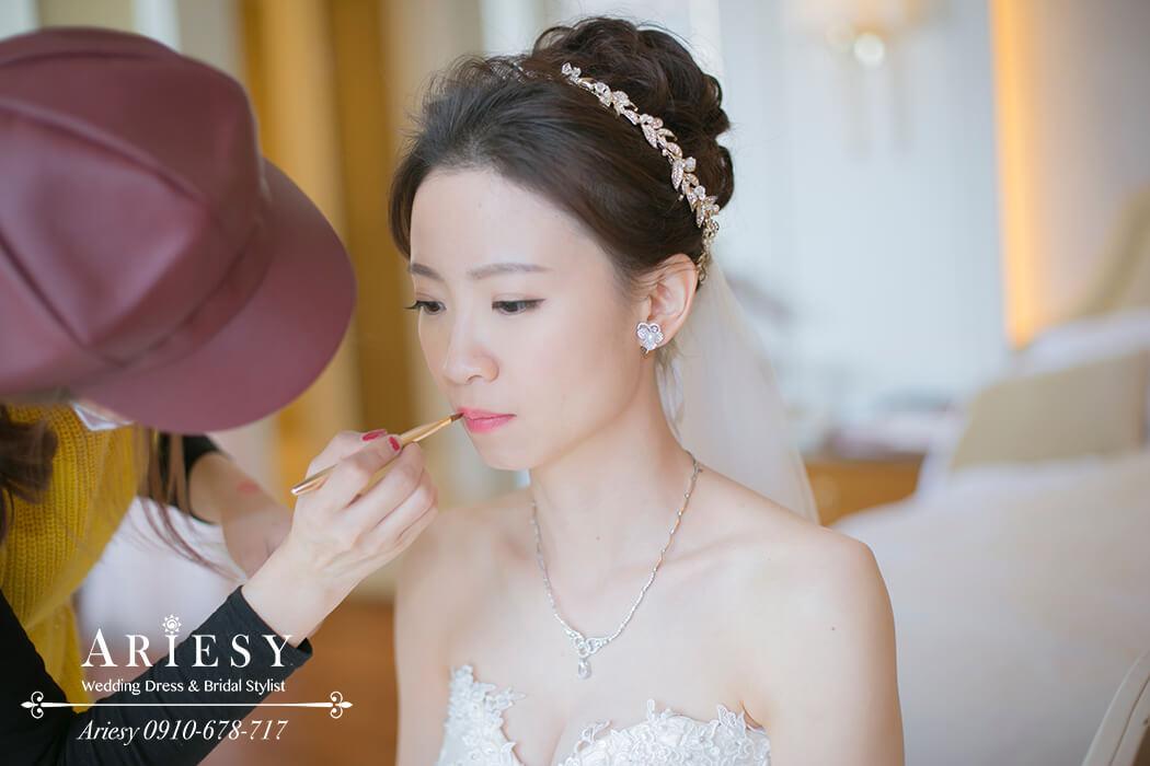 新娘造型,新娘髮型,新秘作品, BRIDE, STRAND,braid,台北,婚宴場地,大倉久和飯店,氣質,歐美新娘飾品,Ariesy,韓國飾品,愛瑞思,新娘秘書髮型