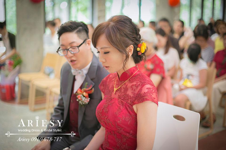 台北新秘,新娘造型,ARIESY,新娘秘書
