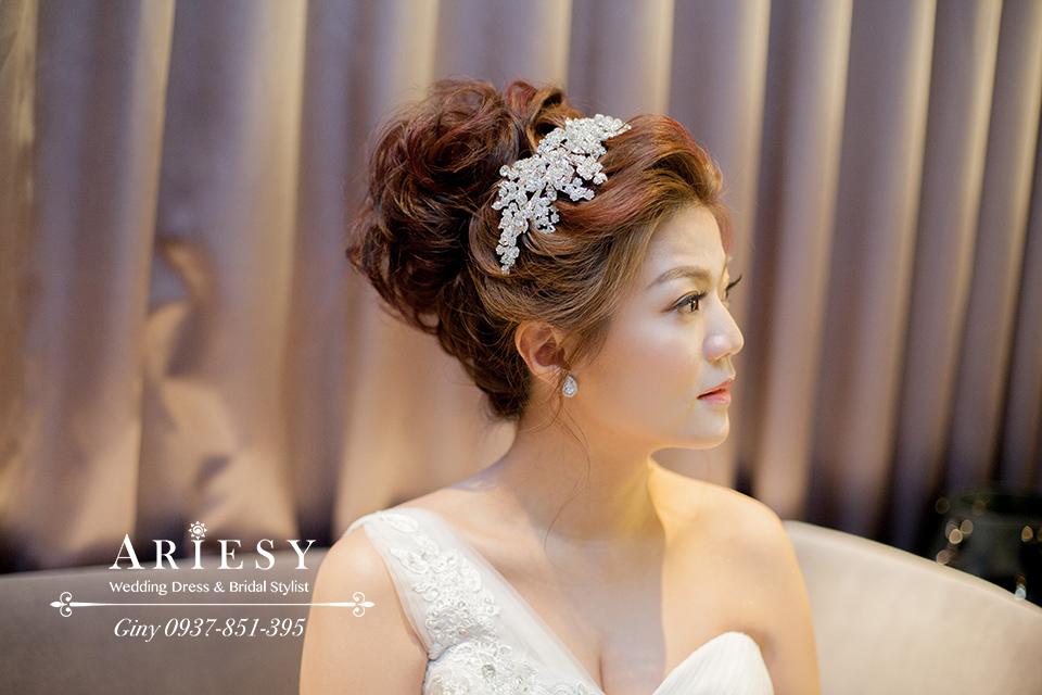 Giny,台北新娘秘書,新秘,清透妝感,新娘造型,時尚造型
