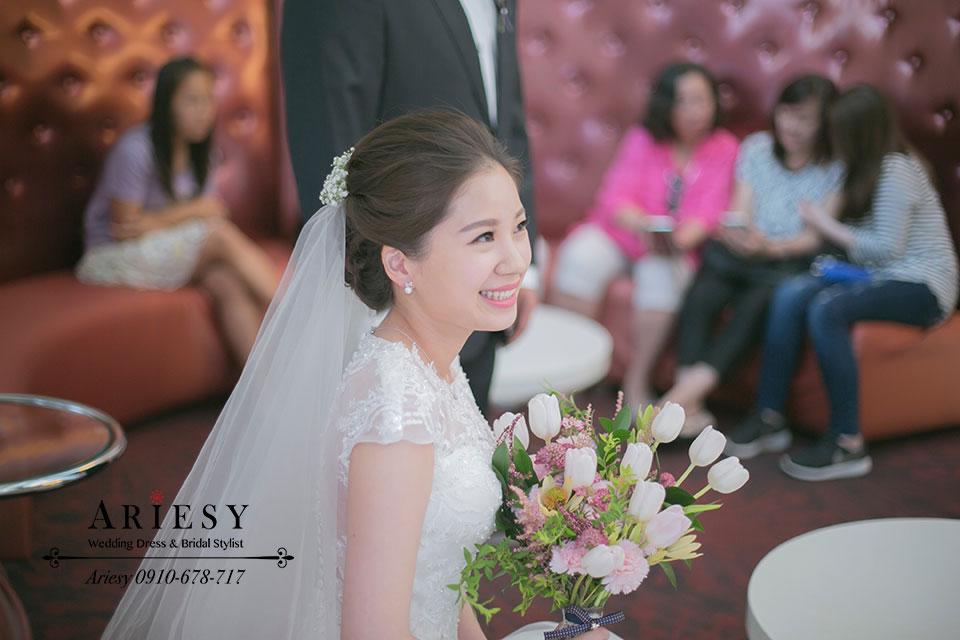 新娘造型,新娘秘書,髮型,妝感,捧花