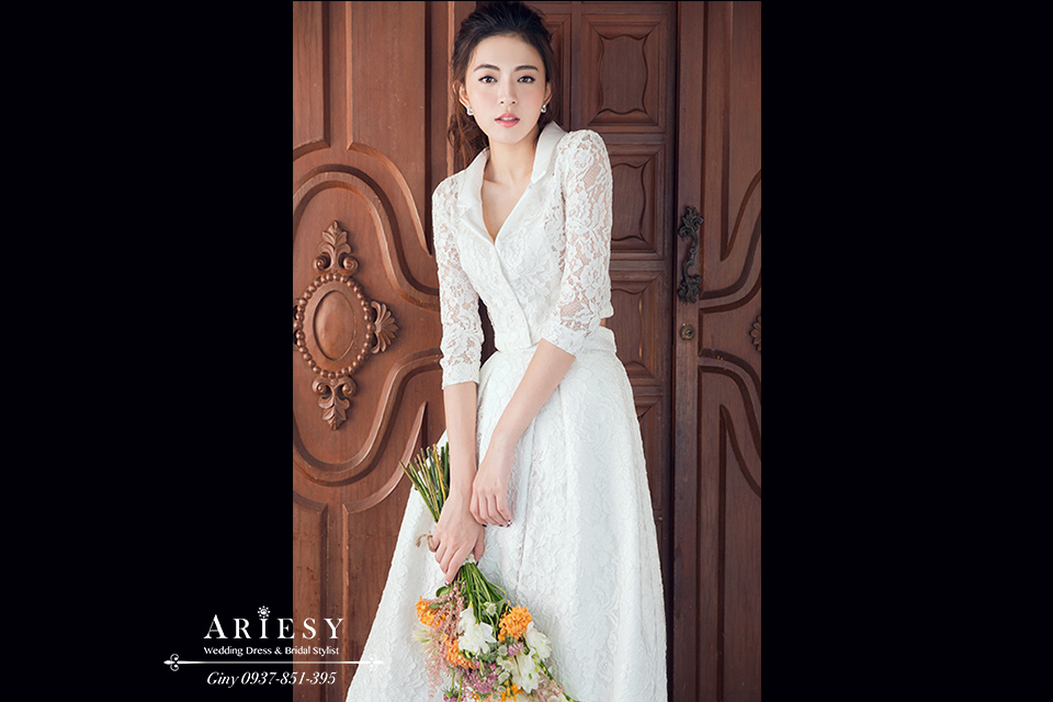 自助婚紗, 台北新秘,新娘秘書,Giny, 婚攝巴里 x Barry Photography,ARIESY愛瑞思品牌訂製手工婚紗