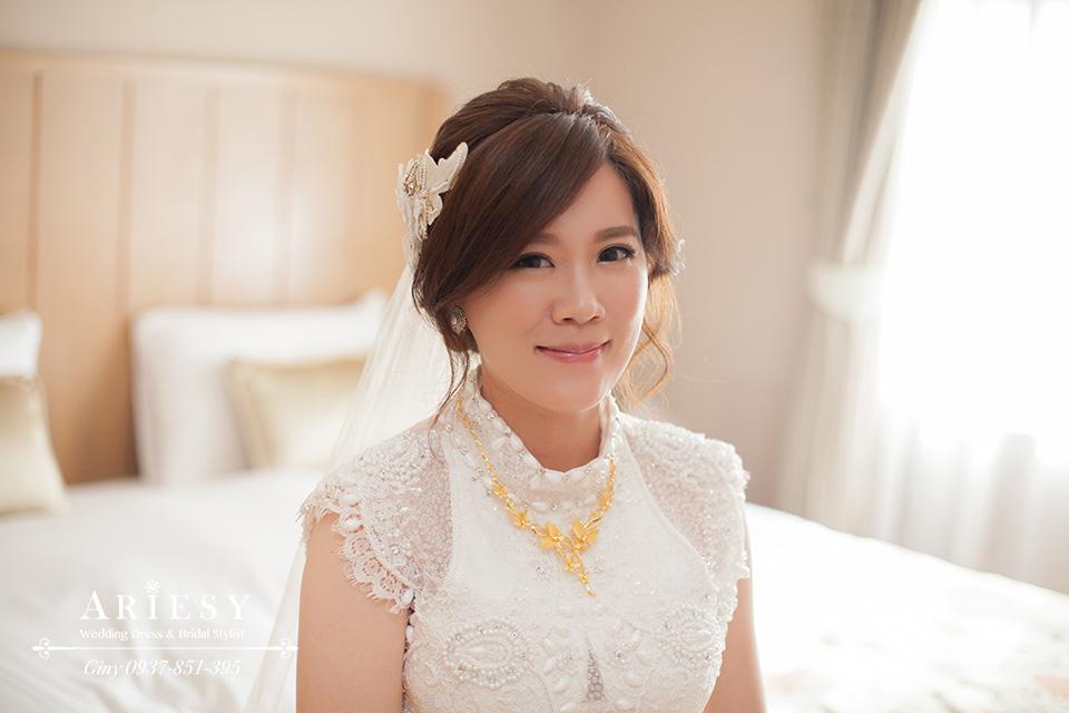 Giny, 台北新娘秘書,新秘,自然清透妝感,新娘造型,時尚造型