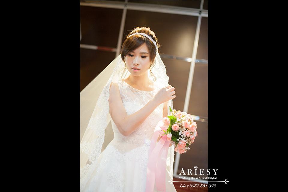 新娘化妝,短髮造型,新秘,歐美髮型 ,婚禮髮型