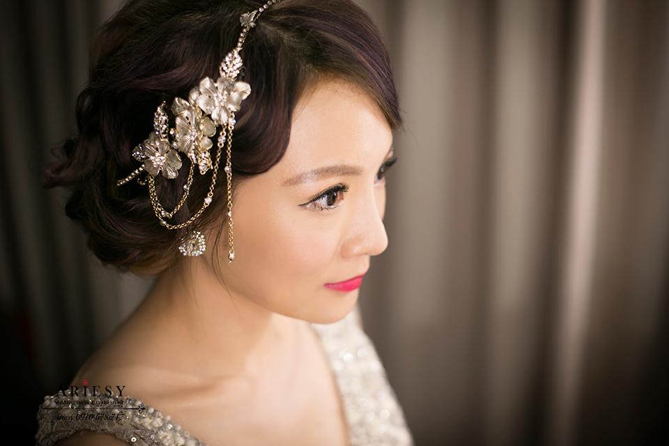 新娘秘書,大亨小傳,復古指推,新娘造型