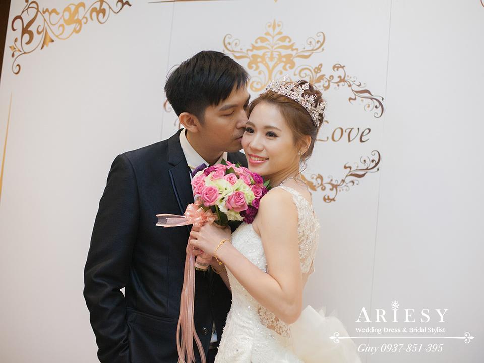 新娘造型,新娘妝,鮮花新秘,編髮,歐美造型,新娘髮型