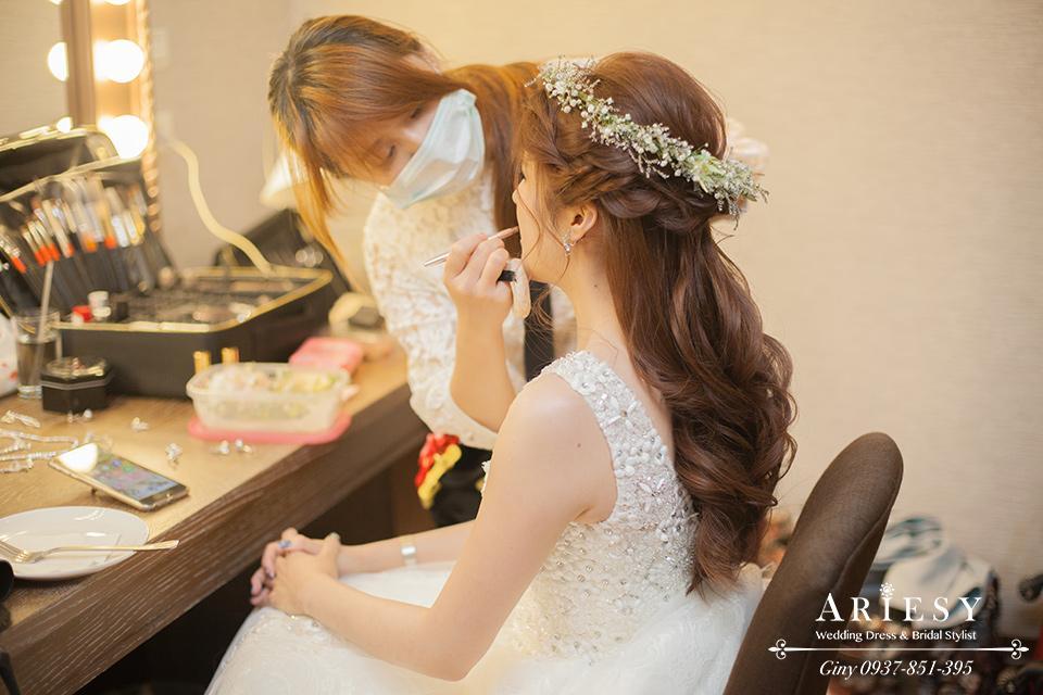 新娘化妝,時尚造型,鮮花造型,歐美髮型,鮮花新秘