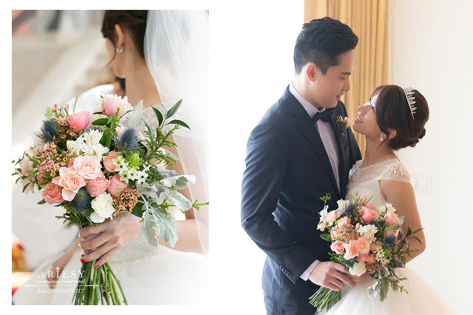 新娘捧花,新娘秘書,.歐美風捧花,新娘髮型