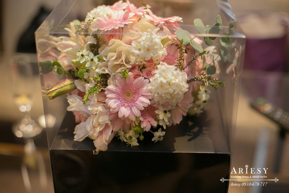 新娘捧花,鮮花捧花,台北新秘