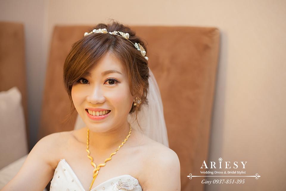 新娘髮型,新娘頭飾,鮮花造型,白紗造型,編髮,歐美新娘
