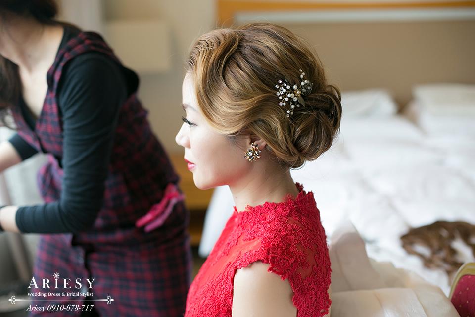 歐美風新秘,復古新娘髮型,新娘造型,新娘秘書