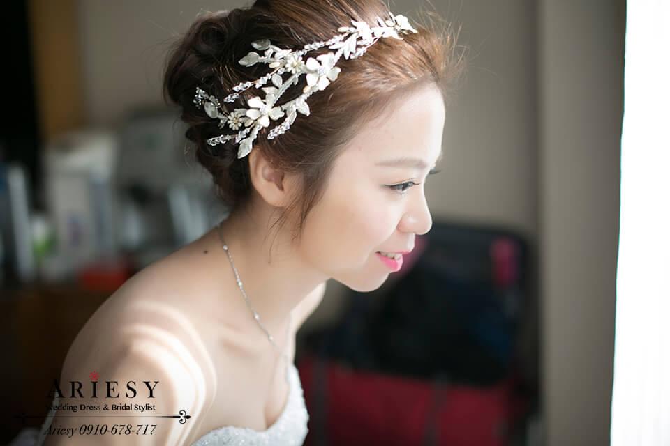 歐美風新秘,新娘髮型,新娘造型,新娘秘書