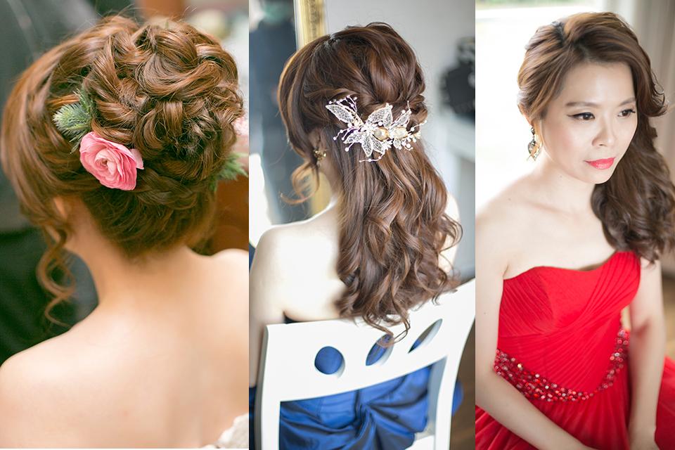 台中新娘秘書,台北新秘,歐美風新秘,時尚新娘造型,新娘髮型