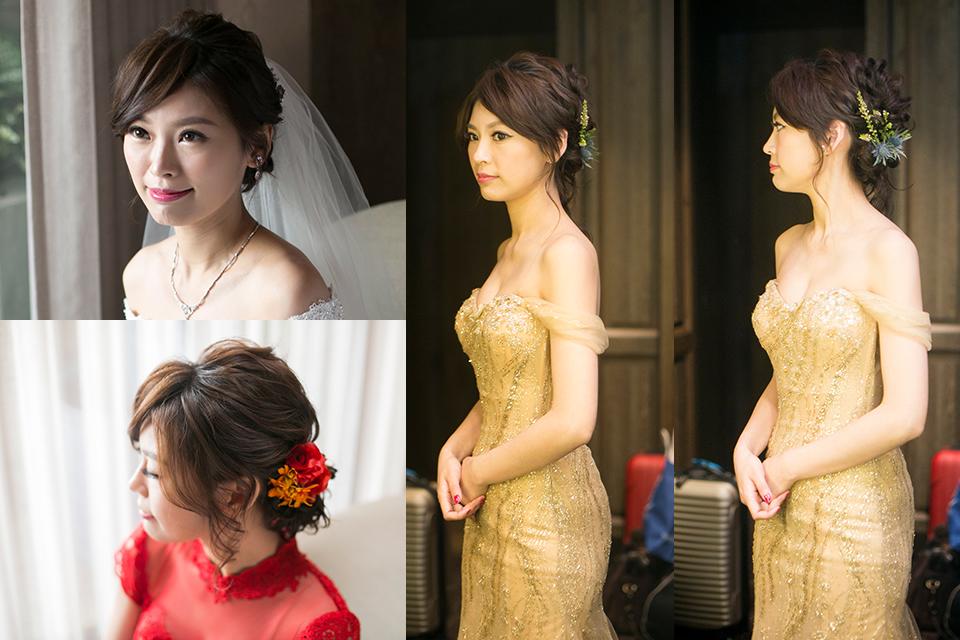新娘秘書,台北新秘,鮮花編髮,ARIESY,新娘髮型