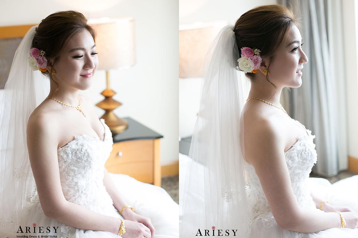 新娘秘書,台北新秘,鮮花新秘,新娘造型