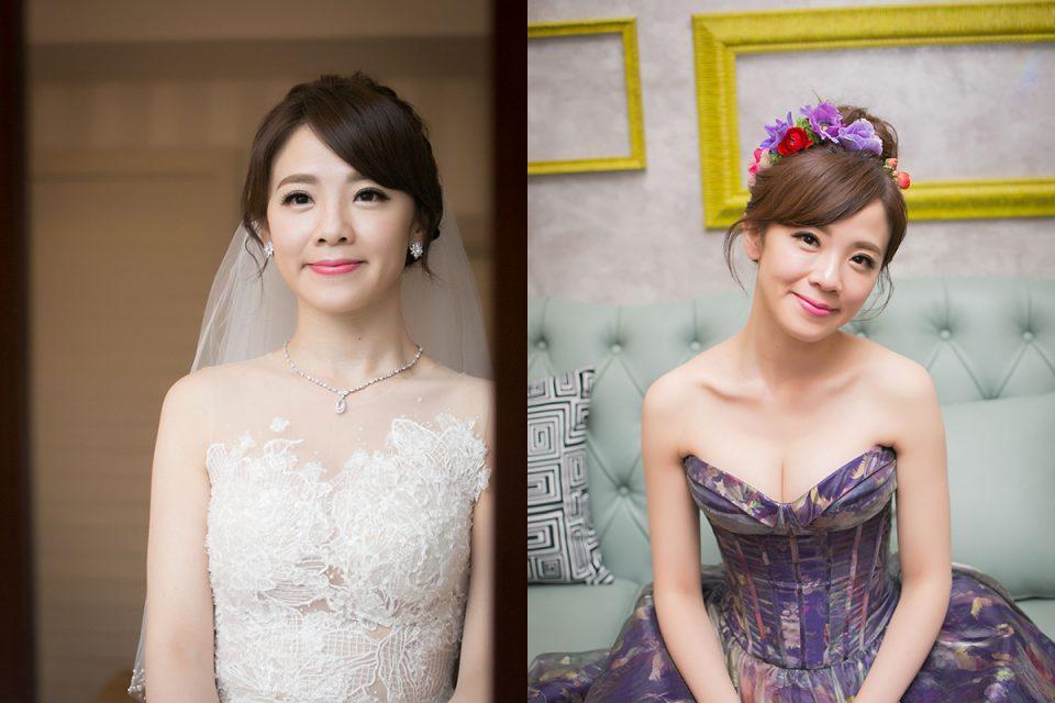 新娘秘書,鮮花新秘,新娘捧花,新娘髮型