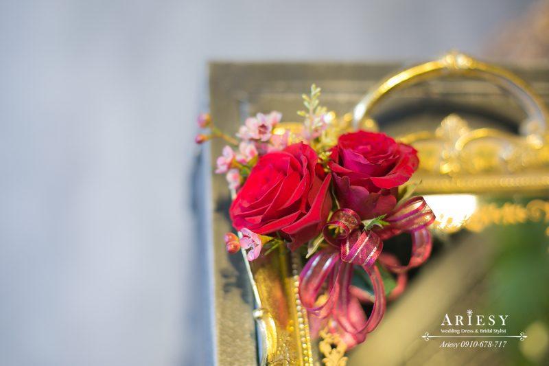 美式婚禮,婚禮胸花,主婚人胸花,歐美新