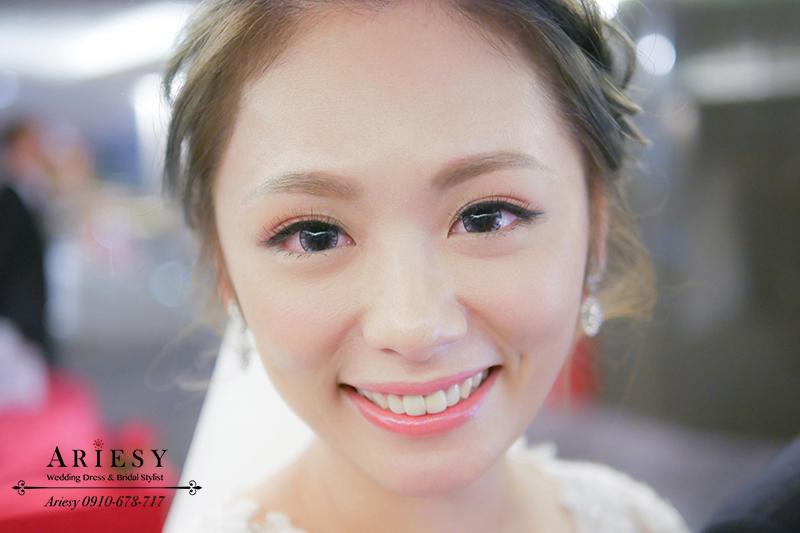 新娘秘書,明星臉新娘妝感,新娘造型,愛瑞思,ARIESY,台北新秘,新秘價格