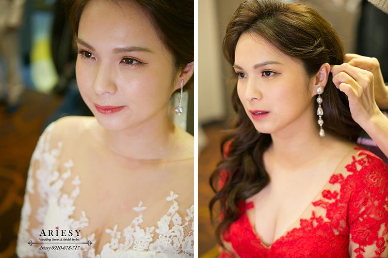 四大新秘Ariesy,結婚髮型,新娘秘書作品,台北新秘,清透新娘妝,名媛新娘造型,白紗造型,新娘髮型