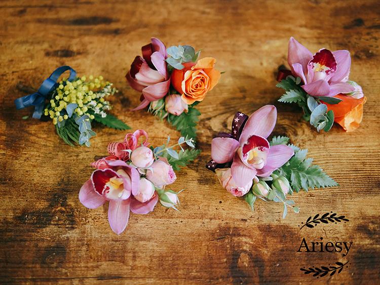 美式新郎胸花,主婚人胸花,歐美新娘捧花,Bridal bouquet,鮮花新秘,美式婚禮