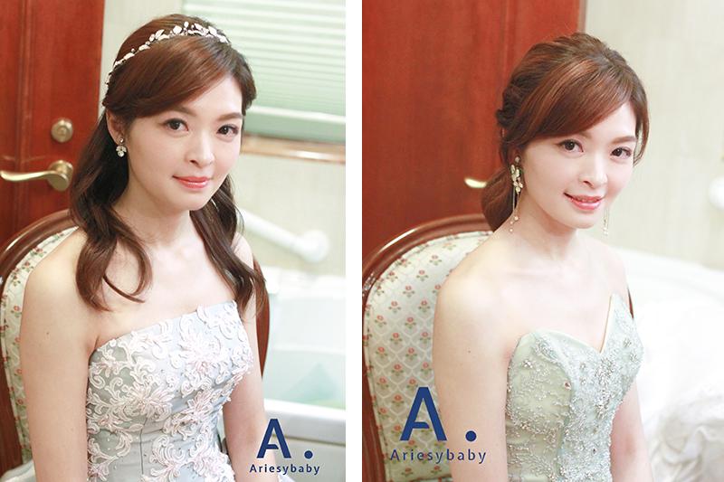 新娘造型,Ariesybaby新秘團隊,新娘秘書,新秘作品,新娘髮型
