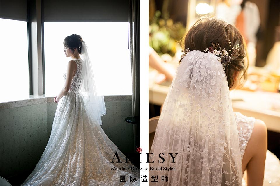 新秘花藝,新秘推薦,新娘妝感,時尚造型,新娘造型
