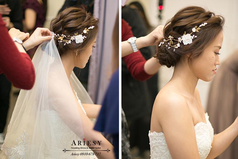 新娘髮型,新娘秘書,新秘,台北新娘秘