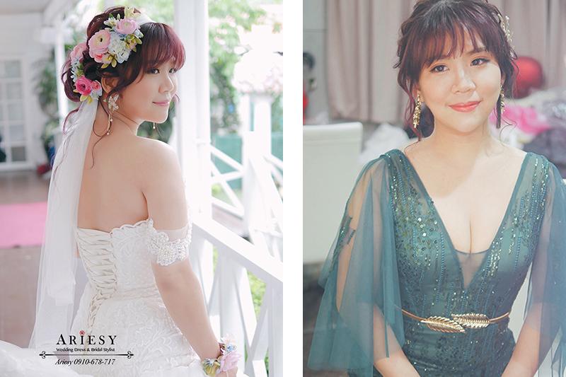 青青時尚,戶外婚禮,美式婚禮,鮮花新秘,歐美風,時尚新娘