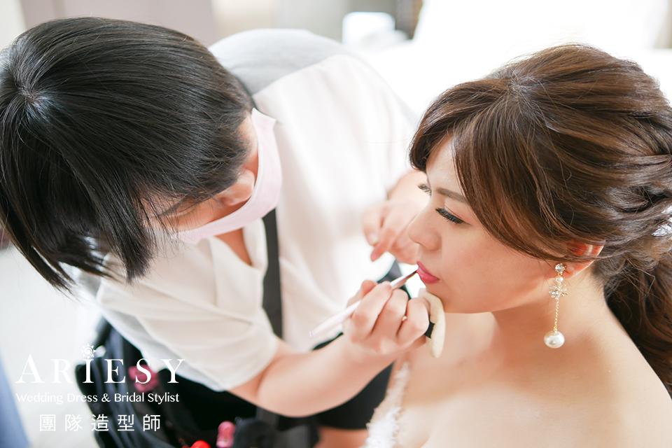 新娘鮮花造型,新秘推薦,短髮新娘,新娘秘書,新娘髮型