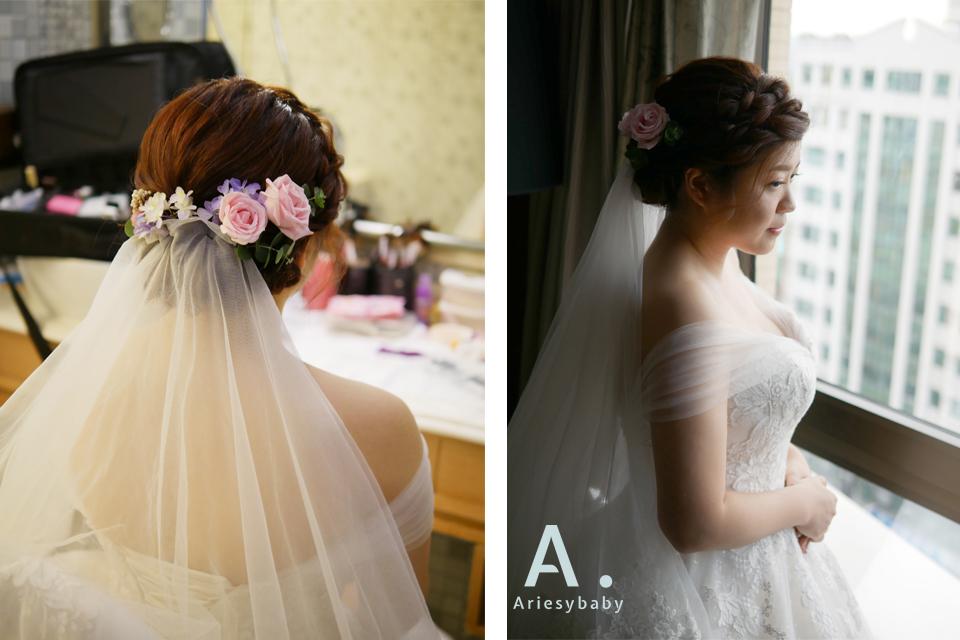 新娘妝,新娘編髮,新秘花藝,鮮花頭飾,新娘秘書