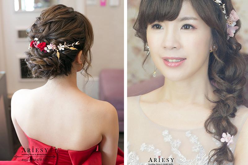 歐美編髮,新娘秘書,台北新秘,新娘造型,新娘髮型,大直典華蜷川實花