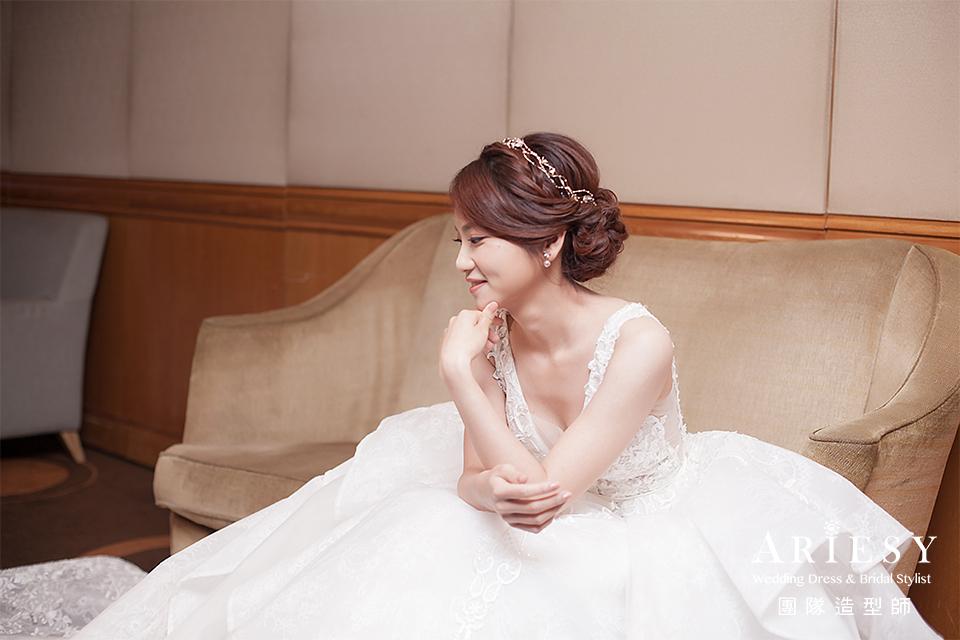 新娘進場造型,新秘推薦,新娘髮型,新秘編髮,新秘