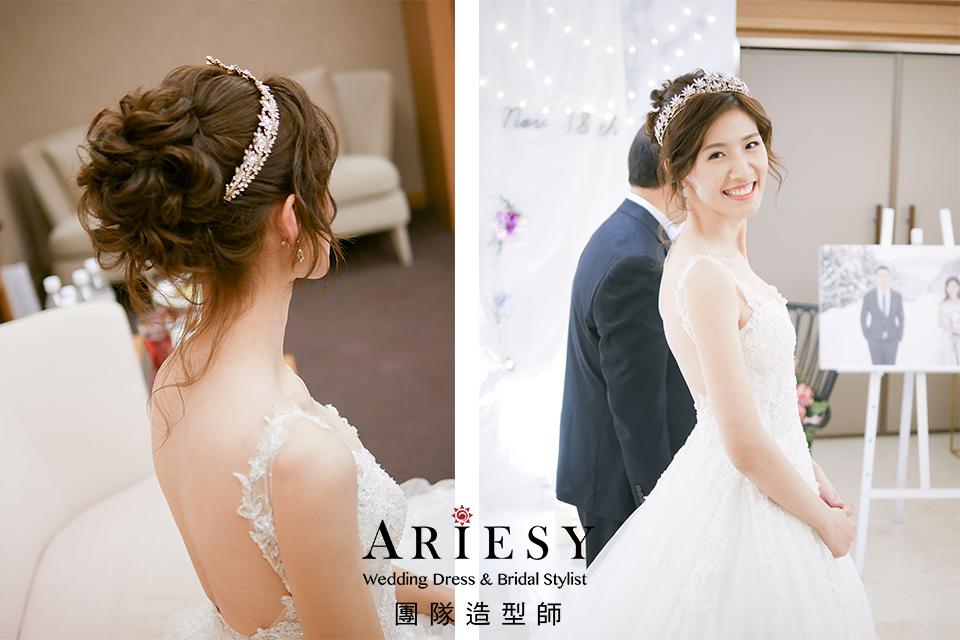 新秘推薦,鮮花造型,新娘妝,編髮造型,文定造型