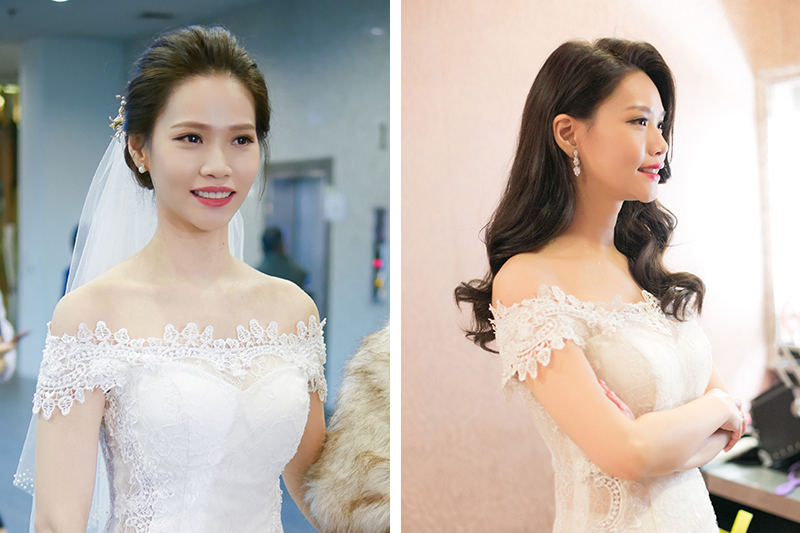 新娘秘書,新秘,愛瑞思,ARIESY,名媛時尚黑髮新娘,新娘造型