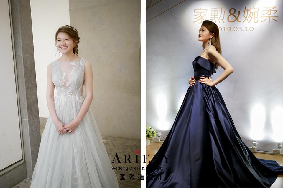 單眼皮新娘,新娘自然妝,歐美風格,新娘時尚造型,鮮花新秘