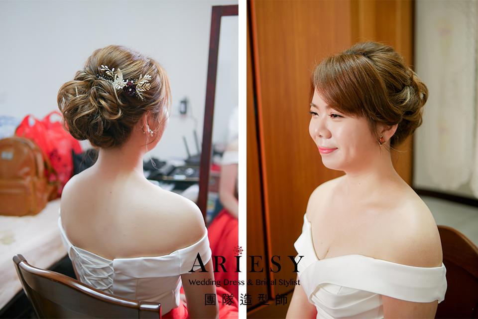 文定髮型,新娘造型,台北新秘,新娘髮型,氣質新娘