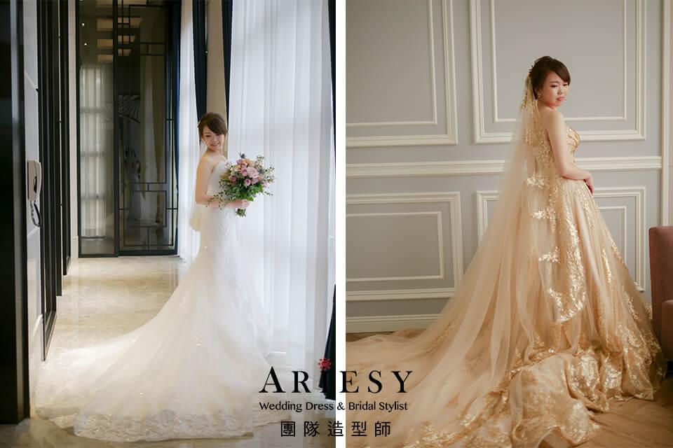 新娘白紗造型,證婚造型,新娘秘書,甜美新娘,新秘花藝
