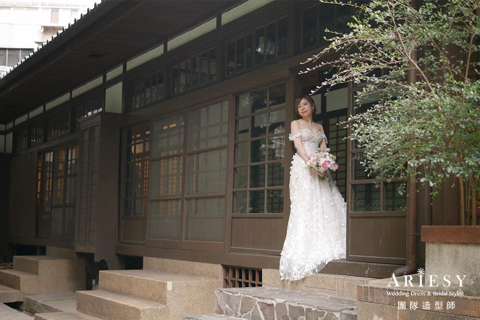新秘推薦,新娘編髮,鮮花造型,新娘髮型,台北新秘