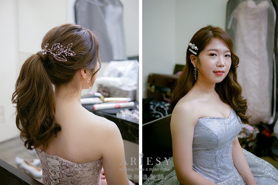 新娘秘書,新娘鮮花髮型,新秘花藝,新秘推薦,新娘髮型推薦