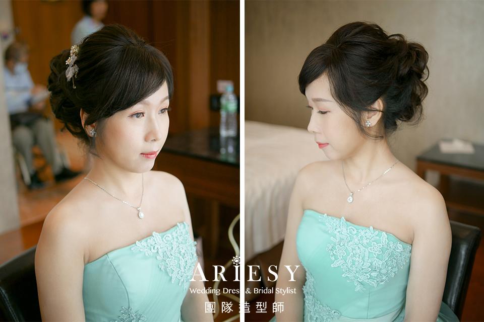 台北新秘,新娘造型,新娘妝,新娘髮型,氣質新娘