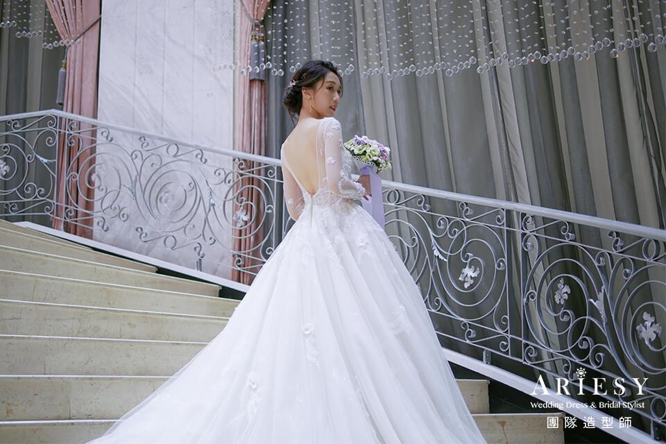 新娘花藝髮型,新秘花藝,新娘秘書,自然妝,新娘編髮