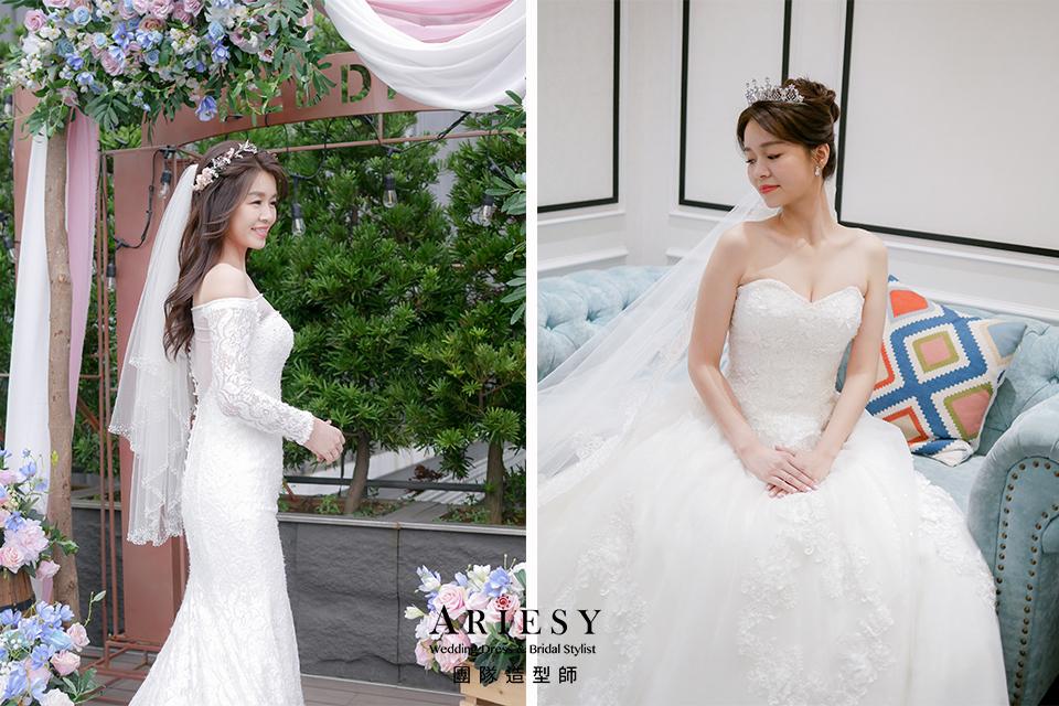 新秘,新娘仙女造型,新娘髮型,新秘花藝,鮮花新秘
